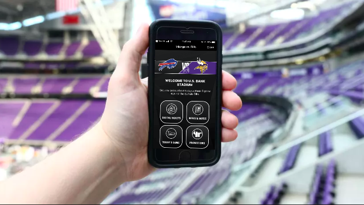 Minnesota Vikings Welcome Fans to the Stadium With Mobile Guide