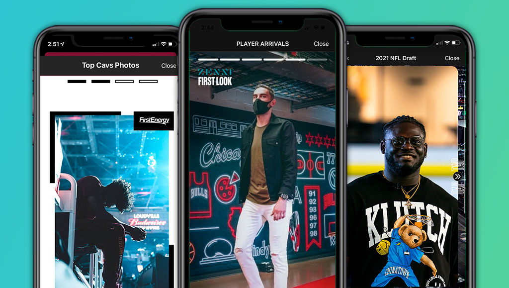How Sports Teams Are Bringing Stories to Life in Their Mobile App